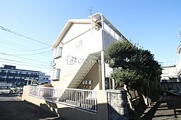 神奈川県相模原市南区東大沼3丁目の賃貸アパートの外観