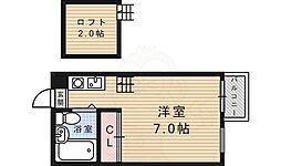 鳥羽街道駅 3.5万円