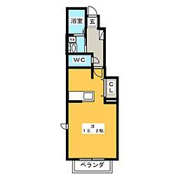 セレーノ B棟[1階]の間取り