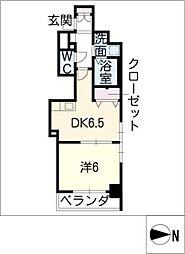 エステムプラザ名古屋駅前プライムタワー[3階]の間取り