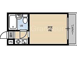 ラ・ビスタ[5階]の間取り