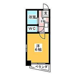 オーク三郷[5階]の間取り
