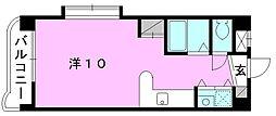 メゾンドール室町[203 号室号室]の間取り