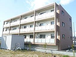 静岡県浜松市浜北区中瀬の賃貸マンションの外観