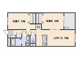 Andante(アンダンテ)[2階]の間取り