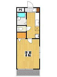 リバーサイドタウン[3階]の間取り