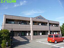 三重県津市久居中町の賃貸アパートの外観