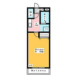 A・City今本町II[2階]の間取り