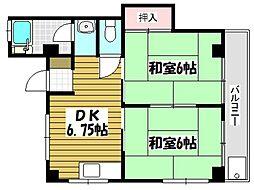 村中ビル[3階]の間取り