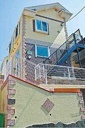 神奈川県横浜市金沢区長浜2丁目の賃貸アパートの外観