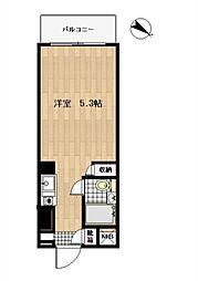 TOP川崎第8[208号室]の間取り