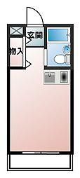 ダイドーメゾン門戸[2階]の間取り