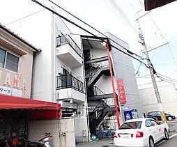 京都府京都市山科区東野狐薮町の賃貸マンションの外観