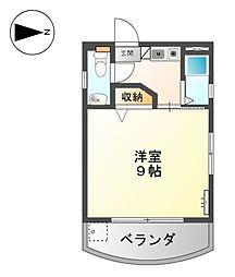 サンライフ赤塚[3階]の間取り