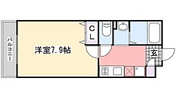 Kハイム[1階]の間取り