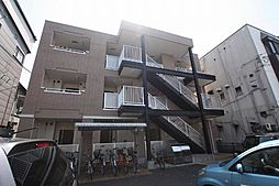 広島県福山市花園町2丁目の賃貸アパートの外観