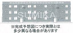 セカンドコートA棟[1階]の外観