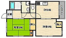 兵庫県神戸市兵庫区吉田町2丁目の賃貸マンションの間取り