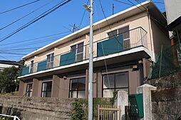 長崎県長崎市鳴滝1丁目の賃貸アパートの外観