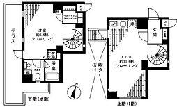 FLEG目黒平町[1階]の間取り