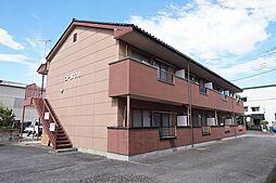 群馬県高崎市菅谷町の賃貸アパートの外観