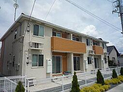 岩手県盛岡市永井の賃貸アパートの外観