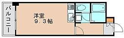 福岡県福岡市東区箱崎4丁目の賃貸マンションの間取り