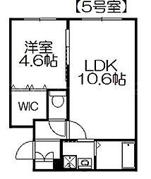 パルコ栄通20[2階]の間取り