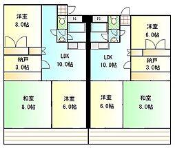 ポートブリッジマンション[1階]の間取り
