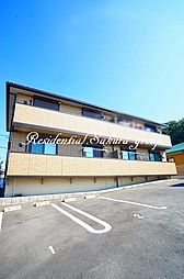 神奈川県横浜市泉区中田北3丁目の賃貸アパートの外観