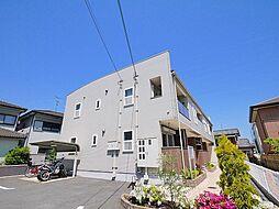 奈良県磯城郡田原本町大字三笠の賃貸アパートの外観