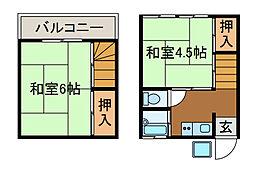 [テラスハウス] 東京都町田市三輪町 の賃貸【東京都 / 町田市】の間取り