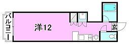 グラン・アール東雲[305 号室号室]の間取り