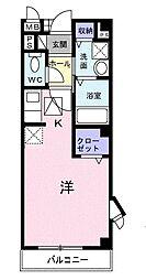 パルテールスクウェア[1階]の間取り