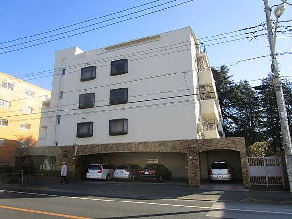 小金井グリーンハイツ[3階]の外観