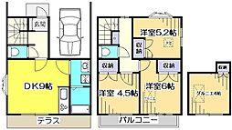 [一戸建] 東京都小平市上水本町4丁目 の賃貸【東京都 / 小平市】の間取り