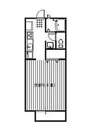ドリームコート[1階]の間取り