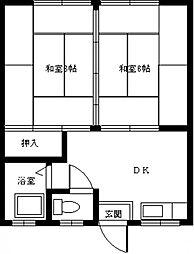 KYOWAコーポ 205号室[205号室]の間取り