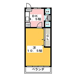 高道マンション[3階]の間取り