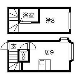 AMS文京台南町壱番館[2階]の間取り