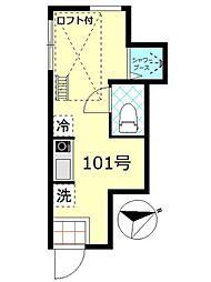 PMA赤羽[1階]の間取り