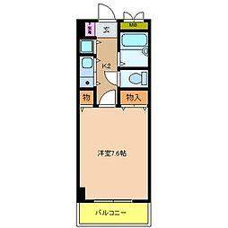 サンモール[7階]の間取り
