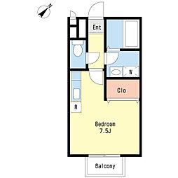 プロシード西船[1階]の間取り