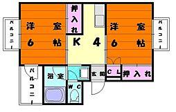 T・S崎村ビル[4階]の間取り