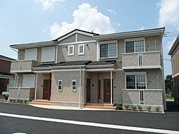 千葉県東金市台方の賃貸アパートの外観