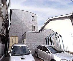 京都府京都市上京区一条通新町西入元真如堂町の賃貸マンションの外観