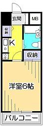 アメニティ・93[3階]の間取り