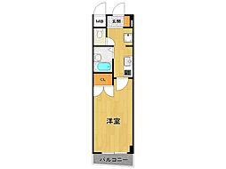 SOLO伊丹中央[8階]の間取り