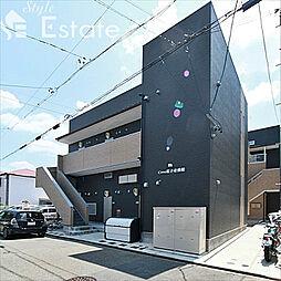 愛知県名古屋市中川区小本本町3丁目の賃貸アパートの外観