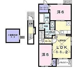 仮)ビオーラEP水口町京町02[2階]の間取り